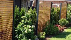 privacy fence-wood-metal-cheap-larch-height-gray-white-made-of-wood-metal-. - privacy-fence-wood-metal-cheap-larch-height-gray-white-made-of-wood-metal-set-up-offer-design-secret - Front Yard Fence, Farm Fence, Diy Fence, Backyard Fences, Fence Gate, Rustic Fence, Pool Fence, Fence Ideas, Bamboo Fence