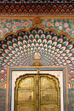 Golden Door, City Palace, Jaipur, Rajasthan, India