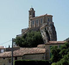 église de Pierrelongue. Rhône-Alpes
