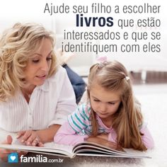 Familia.com.br | Como #incentivar seu #filho a gostar de #ler. #livros #leitura