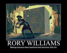 Doctor Who rory williams meme