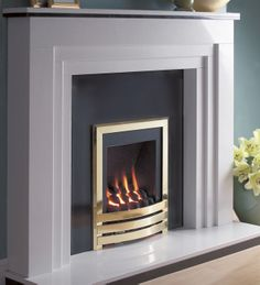 Gas Fires | Windsor Contemporary Inset Gas Fire From Flavel | Direct Fireplaces