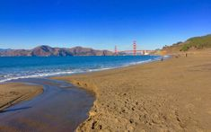Baker Beach in California makes the rest of the haunted places in San Francisco seem tame by comparison.
