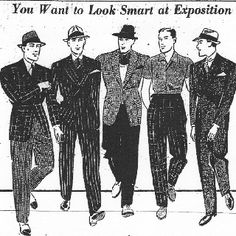 1960s / 1950s men's fashion