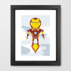 Tony's Flight Framed Art Print