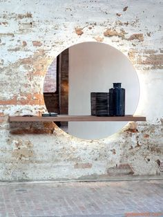 I like the mirror with light that comes from behind it in a bathroom. Use as only source of artificial light in guest bath