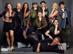 "gotham-daily: "" ""Gotham Cast for Entertainment Weekly "" "" Camren Bicondova, Gotham City, Gotham Girls, Gotham Batman, Gotham Bruce, Batman Art, Batman Robin, Superman, Entertainment Weekly"