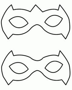 superhero mask template - Google Search http://geekev.com/wp-content/uploads/2012/06/mask-pattern.png