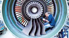 Turbo-fan large turbine blades implants