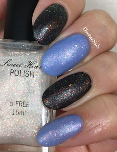 ehmkay nails: Paint Box Polish and Sweetheart Polish LE Duo. Sweetheart Polish A Crown to Wear