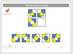 NNAT Kindergarten (Level A) - Sample test, practice questions - TestPrep-Online