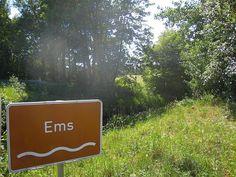 Der idyllische EmsRadweg im Münsterland - Weltenkundler