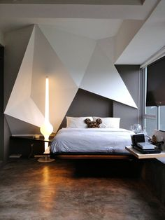 Best Small Bedroom Design Ideas & Decoration for 2018 - Great Home Decorations Modern Minimalist Bedroom, Minimalist House Design, Minimalist Home, Modern Bedroom, Romantic Bedroom Decor, Cozy Bedroom, Home Decor Bedroom, Bedroom Ideas, Bedroom Loft