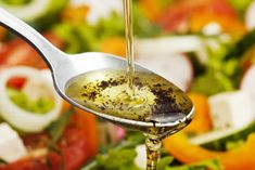 Four healthy and delicious salad dressings you can make under five minutes. Types Of Salad Dressing, Salad Dressing Recipes, Salad Dressings, List Of Salads, Bertolli Olive Oil, Healthy Salads, Healthy Recipes, Healthy Foods, Salad Toppings