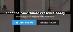 Enhance your online presence with quality responsive web design, premium search engine optimization (SEO), strategic digital marketing, and more! http://762media.com/