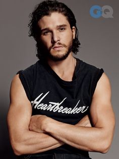 Kit Harington Looks Super-Sexy in GQ, Talks Doing Full-Frontal Nudity for Game of Thrones! | E! Online Mobile