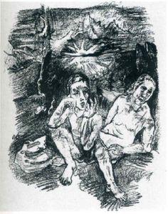 The Last Night, 1914  Oskar Kokoschka