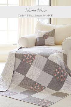 Beginner Quilt Patterns Free, Charm Pack Quilt Patterns, Vintage Quilts Patterns, Baby Quilt Patterns, Block Patterns, Quilting For Beginners, Sewing Patterns, Rustic Quilts, Farmhouse Quilts