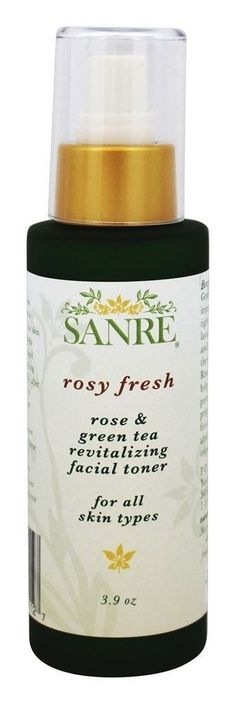 SanRe Organic Skinfood - Rosy Fresh - Organic Rose and Green Tea Revitalizing Facial Toner For All Skin Types -- This is an Amazon Affiliate link. You can get more details by clicking on the image.