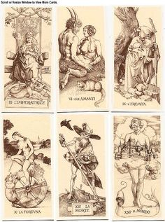 Tarot de Durer Absolutely the most visually striking tarot deck since Crowley's Hermetic decks. Love Durer!!
