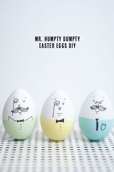 fun ways to dye easter eggs, humpty