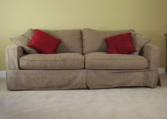 Slipcovered Sofas For Sale