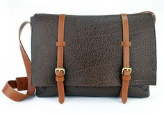 Frank Clegg Leatherworks - Messenger Bag.