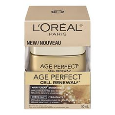 As skin ages, cell renewal decreases dramatically, so skin looks dry and dull. Age Perfect Cell Renewal Night Cream speeds surface skin cell renewal, revealing millions of new skin cells each day for fresher, more youthful looking skin. Instantly, skin feels nourished and supple.... FULL ARTICLE @ http://www.sheamoistureproducts.com/store/loreal-paris-age-perfect-cell-renewal-night-cream-1-7-ounce/?b=3925