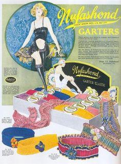 Garter ad, 1920s