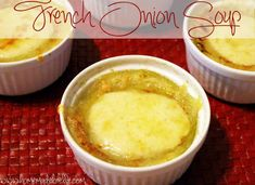 French Onion Soup made right in your slow cooker. | homemadeforelle.com