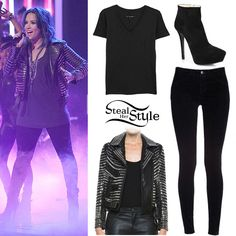Demi Lovato performing on The X-Factor USA November 28th, 2013 - photo: dlovato-news