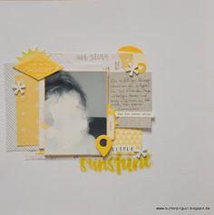 Scrapbooking so bunt wie das Leben: Little Sunshine! [Shimelle-Challenge #4]