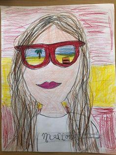 3 tekenlessen voor de laatste weken van het schooljaar: wat zie ik in mijn zonnebril?