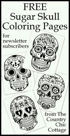 Printable Free Adult Coloring Pages Beautiful Free Coloring Pages for Adults the Country Chic Cottage Skull Coloring Pages, Free Adult Coloring Pages, Coloring Book Pages, Printable Coloring Pages, Coloring Sheets, Mandala Coloring, Fairy Coloring, Kids Coloring, Theme Halloween