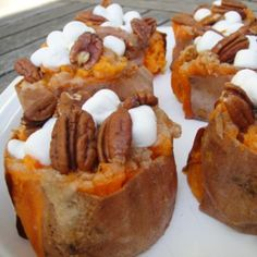 Loaded Sweet Potatoes Recipe