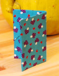 Bee-a-ba: Fabric Origami Card Holder