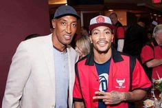 DRose and Pippen