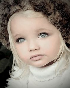 this is possibly the most beautiful child I have ever seen, although it looks like there might have been quite a lot of makeup applied