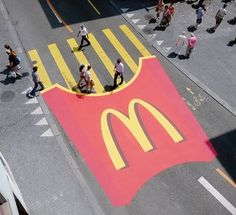 McDonald's use of a crossing..