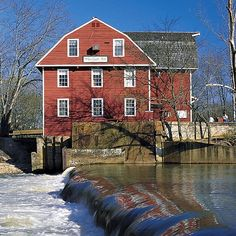 War Eagle Mill, Arkansas.  This is a grist mill that still is in operation.  Wonderful destination for a family trip.