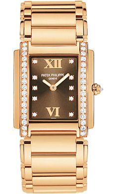4908/11R-010 Patek Philippe Twenty 4 Womens 18K Rose Gold Watch | WatchesOnNet.com