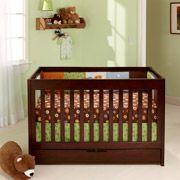 Baby Mod - ParkLane 3-in-1 Convertible Crib, Espresso