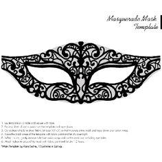 Masquared on pinterest venetian masks masquerade masks for Masquerade ball masks templates