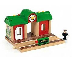 Buy Brio: Railway - Record and Play Station at Mighty Ape NZ. In Brio World there are no borders and no limitations – just endless possibilities. Be whoever you want to be, wherever you want in the BRIO World.