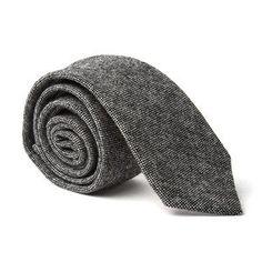 Wool Tweed Tie