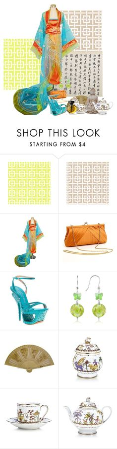 """Ocean Tides and Wheat Fields"" by sh0shan ❤ liked on Polyvore featuring La Regale, Gianmarco Lorenzi, Forzieri Murano, S.W.O.R.D., Tiffany & Co. and Cartier"