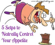 5 Steps to Naturally Control your appetite