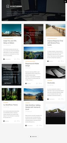 Ivy - Responsive Masonry Personal Blog WordPress Theme #presonalblog #wordpressblog Live Preview and Download: http://themeforest.net/item/ivy-responsive-masonry-wordpress-theme/9374772?ref=ksioks