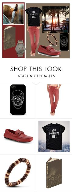 """""""my handsome man"""" by xrizantemka ❤ liked on Polyvore featuring Diesel, Prada, Marc by Marc Jacobs and Bela"""