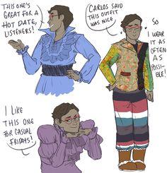 Cecil's amazing fashion sense
